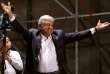 Le nouveau président méxicain Andres Manuel Lopez Obrador, à Mexico, le 1er juillet.