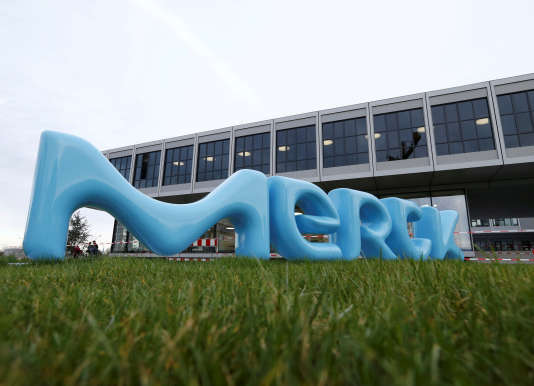 Les locaux du laboratoire Merck, à Darmstadt, en Allemagne.