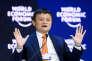 Le patron du groupe chinois Alibaba, Jack Ma, au Forum économique mondial, à Davos (Suisse), le 24 janvier.