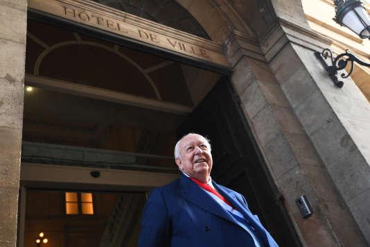 Le maire de Marseille, Jean-Claude Gaudin, le 20 octobre 2017.