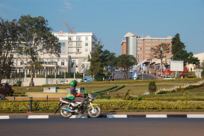 Vue de Kigali, la capitale du Rwanda, en 2007.