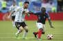 N'Golo Kanté intraitable face à Lionel Messi, lors du huitième de finale France-Argentine (4-3), samedi 30 juin 2018 à Kazan.