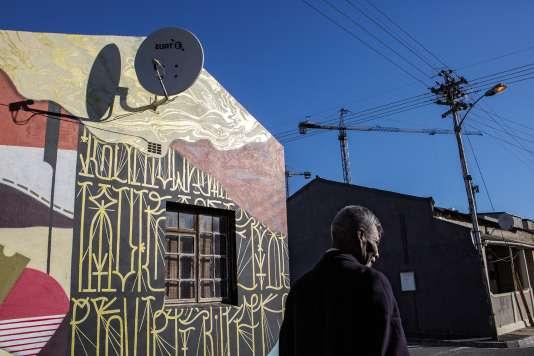 Le street art à Woodstock, au Cap.