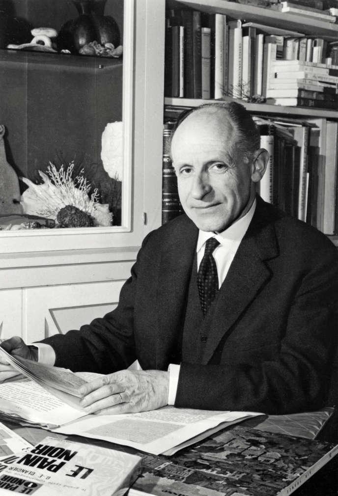 Georges-Emmanuel Clancier, àParis, le 18 juin 1971.