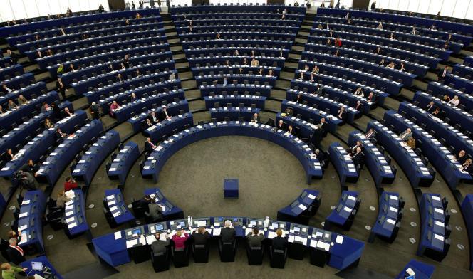 Le parlement européen, à Strasbourg, le 20 octobre 2008.
