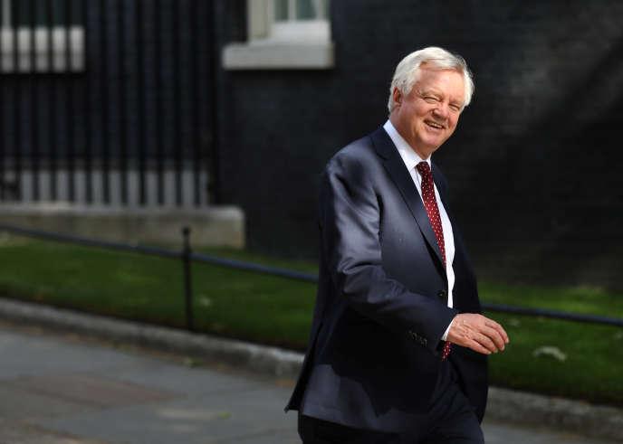 Le ministre du Brexit, David Davis, le 4 juillet à Londres.