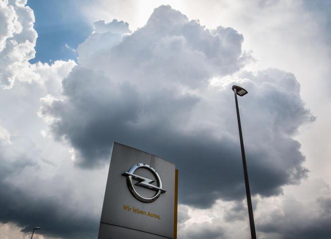 Sur le site de Rüsselsheim en Hesse, siège historique d'Opel, en mai 2016.