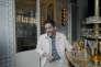 Manu Payet, au restaurant du club Blanche, Paris 9e, le 29 juin 2018.