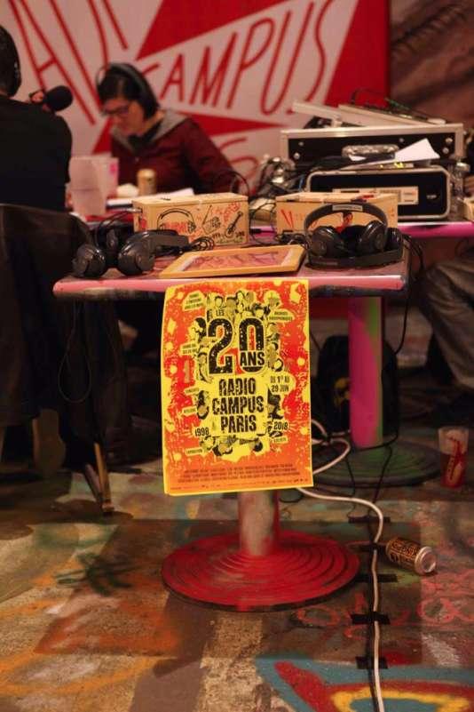 Créée en 1998, la radio étudiante fête ses vingt ans.