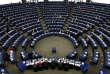 Le Parlement européen en session à Strasbourg.