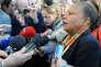 L'ancienne ministre de la justice Christiane Taubira en avril 2017 à Colomiers (Haute-Garonne).