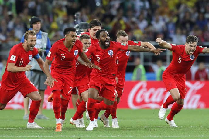 Pour la première fois de l'histoire, les Anglais ont remporté une séance de tirs au but à la Coupe du monde, mardi 3 juillet.