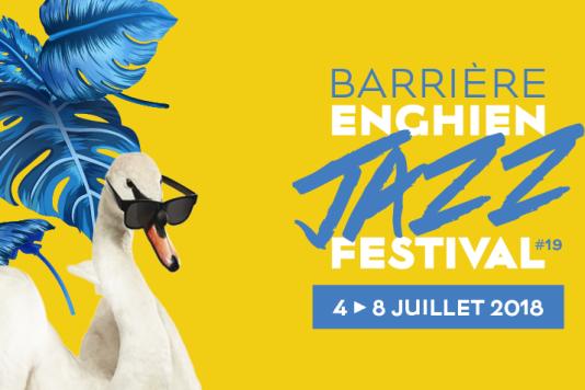 Affiche du Barrière Enghien Jazz Festival.