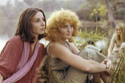 Thérèse Liotard etValérie Mairesse dans« L'une chante, l'autre pas» (1977), d'Agnès Varda.