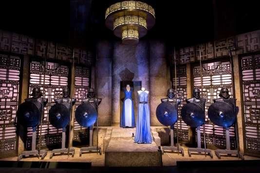 La chambre de Targaryen, dans l'exposition« Game of Thrones»