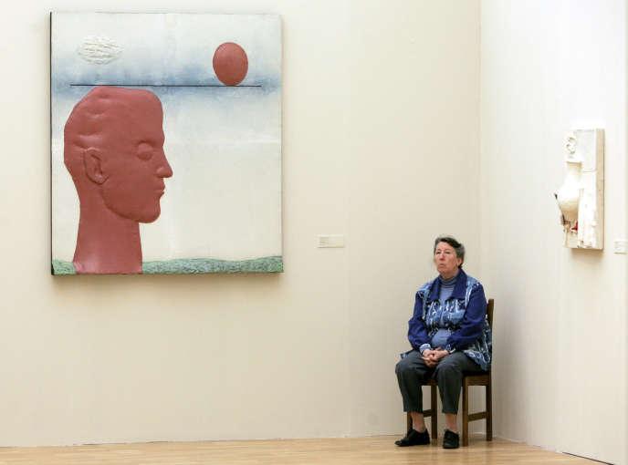 A la Nouvelle Galerie Tretiakov, à Moscou.