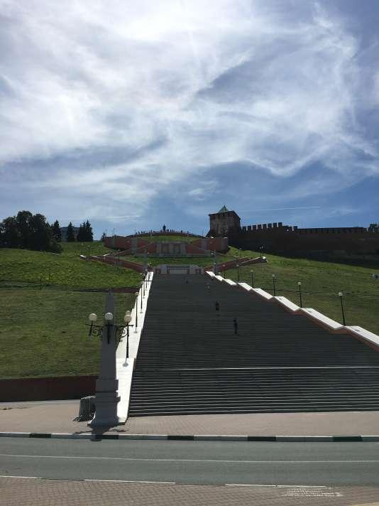 Les escaliers de Tchkalov.