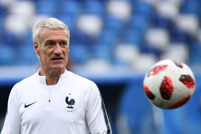 Didier Deschamps, le 5 juillet 2018.