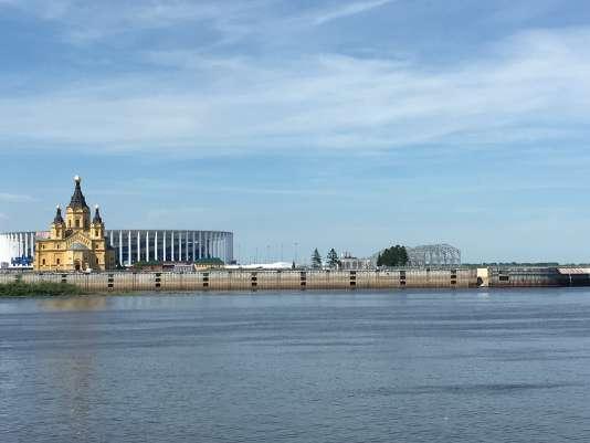 La cathédrale, l'Arena et la confluence.