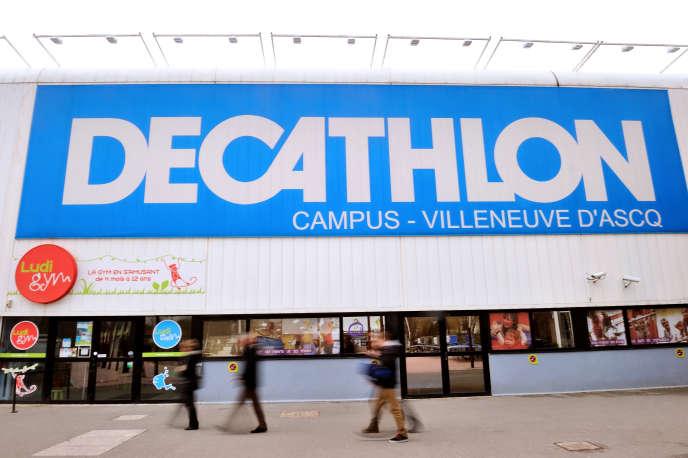 Magasin Decathlon, à Villeneuve-d'Ascq (Nord), en 2014.