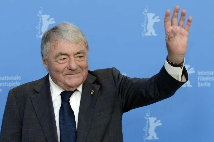 Claude Lanzmann, en février 2013, au festival du film de Berlin.