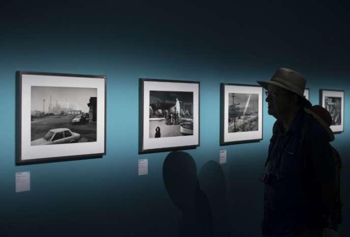 Aux Rencontres de la photographie d'Arles, le 3 juillet.