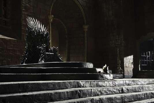 Le célèbre Trône de fer de la série« Game of Thrones».