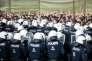 La nouvelle unité autrichienne de police aux frontières « Puma», lors d'un exercice, àSpielfeld, à la frontière avec la Slovénie, le 26 juin.