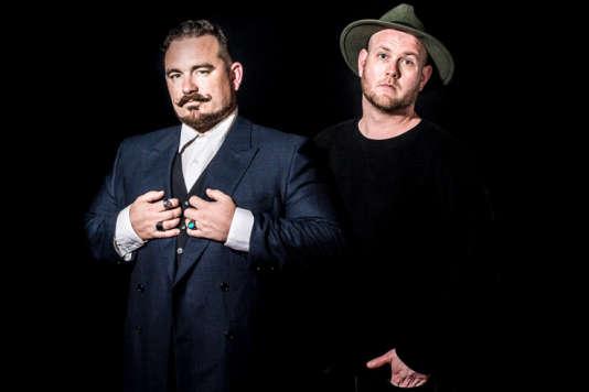 Visuel de l'album« Fashion Drunk», du duo Otis Stacks, formé par l'Américain Elias Wallace et le Danois Justmike.