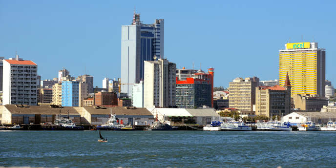 Le port de Maputo, capitale du Mozambique, en avril 2016.