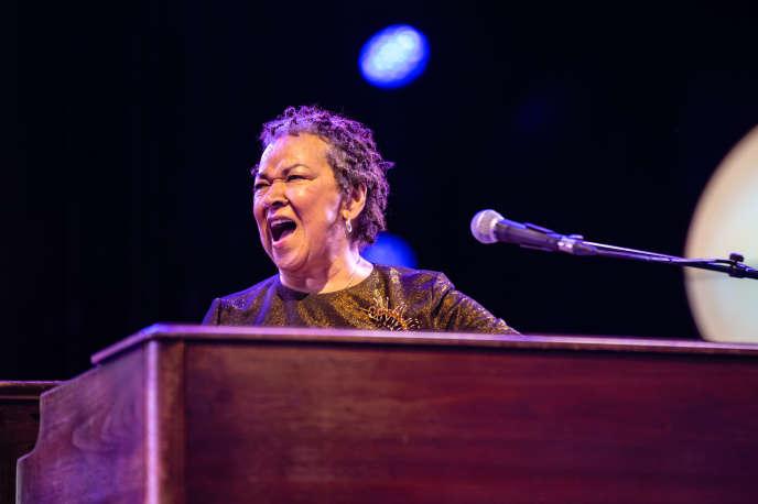 Rhoda Scott au festival Jazz à Vienne, le 3 juillet 2018.