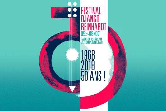 La 50e édition du Festival Django Reinhardt se tient du 5 au 8 juillet 2018 dans le parc du château de Fontainebleau.