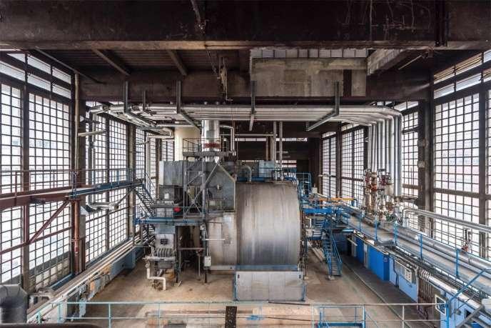 Le site industriel de Romainville/Pantin sur lequel s'implanteront la Fondation Fiminco et les réserves du Fonds régional d'art contemporain (FRAC) Ile-de-France, fin 2019.