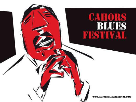 Affiche du Cahors Blues Festival.