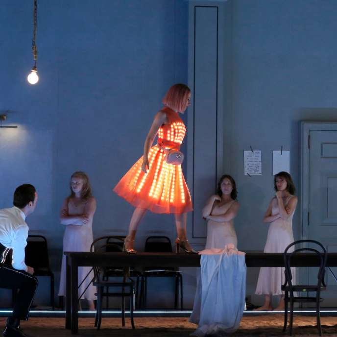 « Ariane à Naxos», de Richard Strauss, mise en scène par Katie Mitchell au Festival d'Aix-en-Provence.