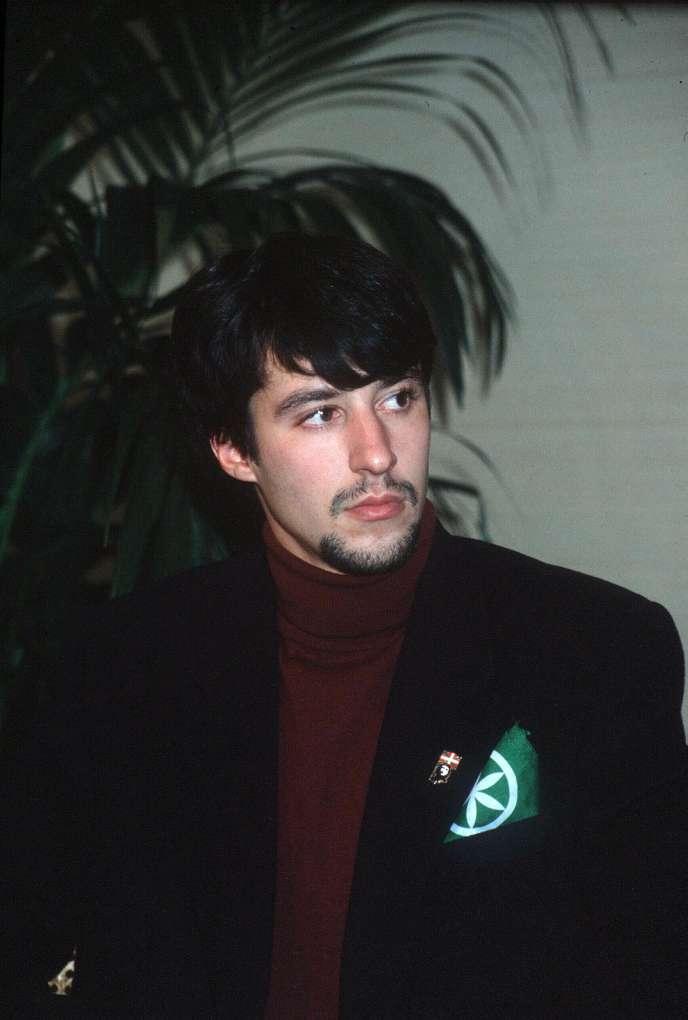 Matteo Salvini, en 1997.