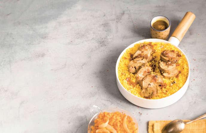 Filet mignon à l'indienne, une recette issue de «La Révolution du batch cooking», d'Anne Loiseau (Larousse, 2017).