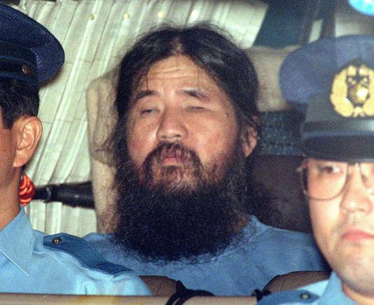 Shoko Asahara, le 25 septembre 1995.