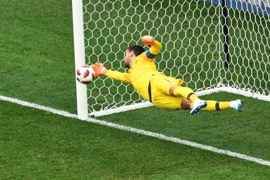 Hugo Lloris a brillé contre l'Uruguay.