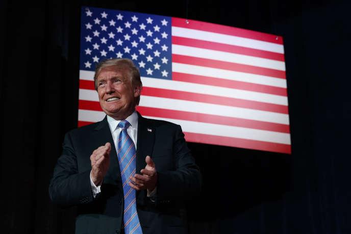 Le président américain Donald Trump à White Sulphur Springs (Virginie-Occidentale), le 3 juillet.