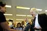 Boris Johnson, ministre des affaires étrangères du Royaume-Uni, lors d'une conférence de presse à Genève, le 18 juin.
