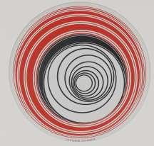 """«Les """"Rotoreliefs"""" sont des jeux optiques qui réconcilient des notions opposées. En effet, ces images plates se perçoivent en volume grâce à leur mise en mouvement sur un tourne-disque. Délibérément introduits dans des réseaux commerciaux comme pour échapper aux circuits officiels d'exposition, les """"Rotoreliefs"""" sont brevetés auprès du tribunal de commerce de la Seine et présentés en 1935 au 33e concours Lépine à Paris. Ils n'y rencontrèrent aucun succès.»"""