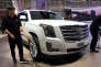 Un SUV Escalade de la marque Cadillac du groupe General Motors, au salon Auto China, à Pékin, le 25 avril.