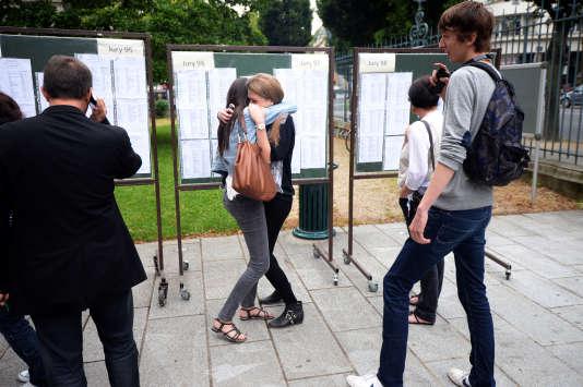 Les résultats du bac ont été publiés à 9 heures dans l'académie de Rennes, vendredi 6 juillet.