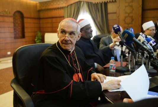 En 2018, devant les autorités de Riyad et de la Ligue islamique mondiale, le cardinal Tauran dénonce «un système de deux poids deux mesures» imposé aux croyants, qui alimente à la fois l'islamophobie et la christianophobie.