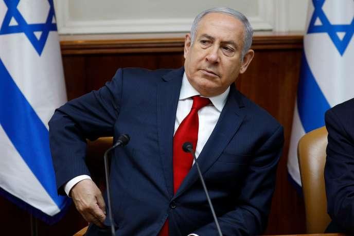 Le premier ministre israélien Benyamin Nétanyahou à Jérusalem, le 24 juin.