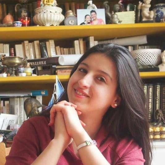Eibaa Kasem, 20 ans, arrivée de Syrie en 2015, est élève au lycée Maurice-Genevoix, de Montrouge. Elle veut être« ingénieur civil, comme [son] père ».