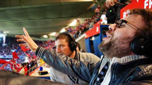 Bruno Salomon, commente les matchs du PSG sur France Bleu.