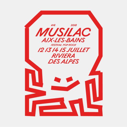 Affiche du festival Musilac.
