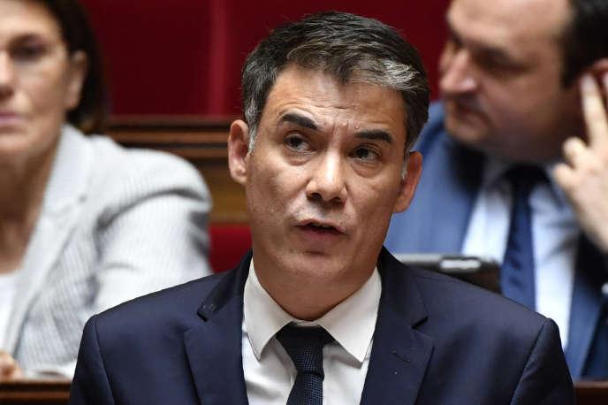 Olivier Faure, le 27 juin 2018 à l'Assemblée nationale.